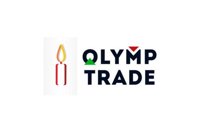 Fixed Time Tradeที่มีสีของแท่งเทียนใน Olymp Trade